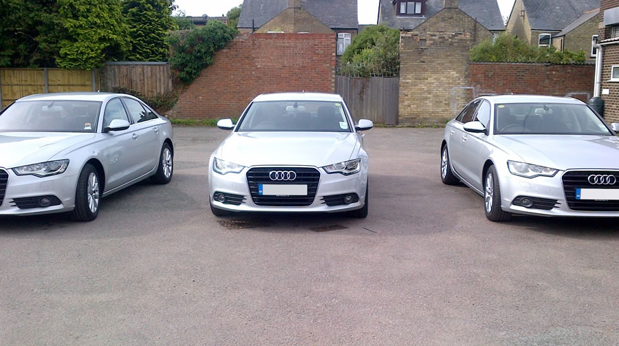 Audi A6s and A4s