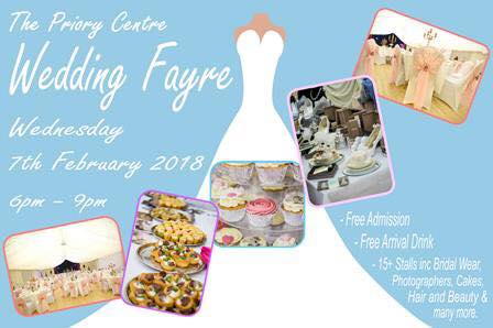 The Priory Centre Wedding Fayre