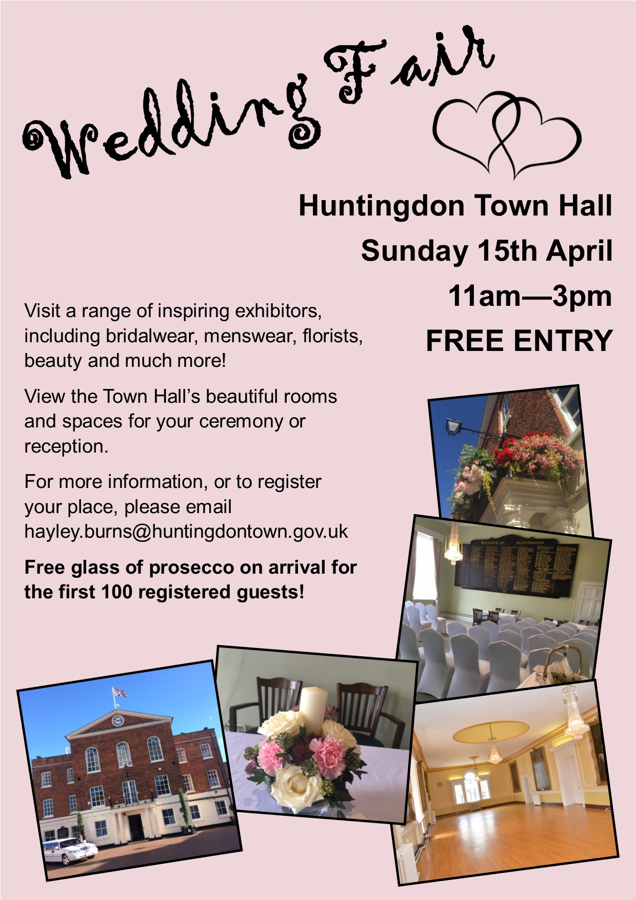 Wedding Fair - Sunday 15th April 2018