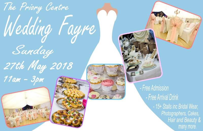 Priory Centre Wedding Fayre