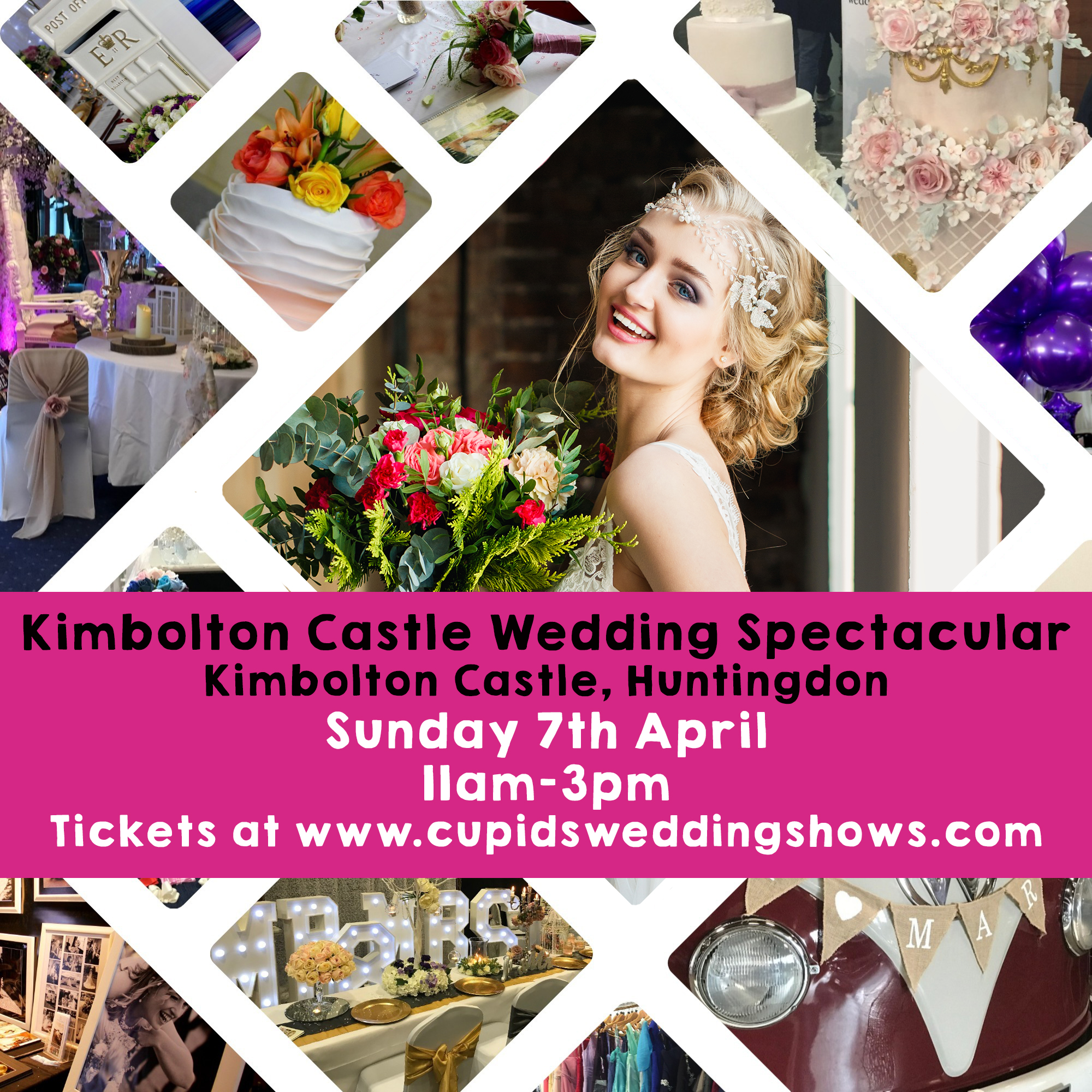 Kimbolton Wedding Fair April 7th Wedding Cars