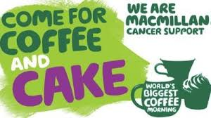 MacMillan Coffee Morning Cancer St Neots Levellers Lane