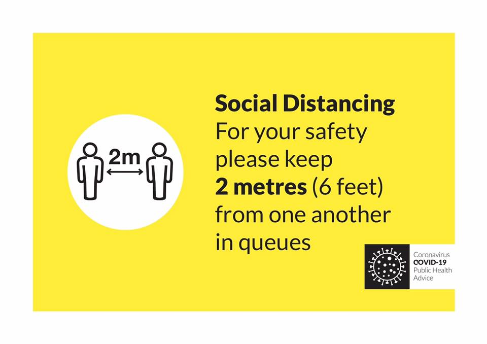 Safe distancing using transport